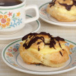 Cream Puffs — Stock Photo