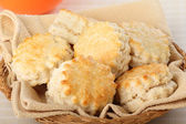Flaky Biscuits — 图库照片