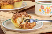 Crumb Cake Muffin — Stock Photo