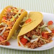 Two Tacos — Stock Photo