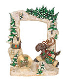 Christmas Picture Frame — Stock Photo