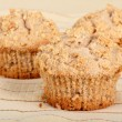 Muffin Closeup — Stockfoto