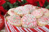 Křehké vánoční cukroví — Stock fotografie
