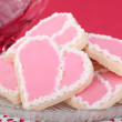 Heart Shaped Cookies — Stock Photo