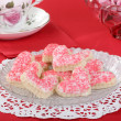 Heart Valentine Cookies — Stock Photo
