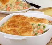 Chicken Pot Pie — Stock Photo