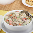 Creamy Chicken Soup — Stock Photo