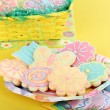 Flower and Butterfly Sugar Cookies — Stock Photo #37512829