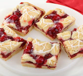 Cherry Squares — Stock Photo