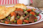 Beef Stew Closeup — Stock Photo
