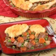 Beef Pot Pie Meal — Stock Photo #37696419