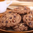 Plate of Chocolate Chip Cookies — Stock Photo #38246411