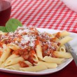 Penne Pasta Meal — Stock Photo #39617511