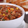 Stock Photo: Vegetable Beef Soup