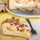 Apple Cream Cheese Coffee Cake — Stock Photo