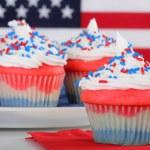 American Cupcakes — Stock Photo
