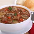 Beef and Mushroom Soup — Stock Photo #41323375