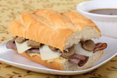 Roast Beef Sandwich — Stock Photo