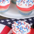Patriotic Cupcakes — Stock Photo #41856281