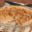 Stock Photo: Apple Crumb Pie