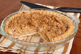 Apple Crumb Pie — Stock Photo