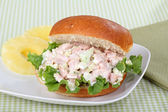Ham Salad Sandwich — Stock Photo