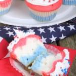 American Holiday Cupcake — Stock Photo #42722255