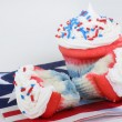 Patriotic Cupcakes — Stock Photo #42963339