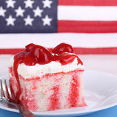 Patriotic Cake — Stock Photo