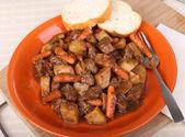Beef Stew Dinner — Stock Photo