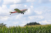 Crop Dusting — Stock Photo
