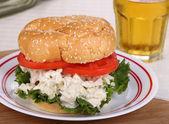 Tavuklu sandviç — Stok fotoğraf
