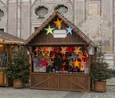 Christmas market in Munich — Stock Photo