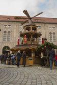 Christmas market in Munich — Stock Photo