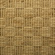 Raffia rug, Backgrounds — Stock Photo