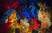 Nativity Scene Christmas — Stok fotoğraf
