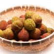 Litchi fruits — Foto Stock
