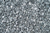 Compacted gray gravel — Stock Photo