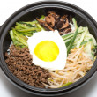 Korean bibimbap — Stock Photo