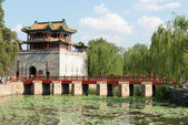 Chinese Gate In Beijing — Stock Photo
