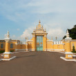 Stock Photo: Main gate to Royal Palace in Phnom Penh, Cambodia