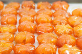 Vietnamese sweetened kumquats, traditional snack during Lunar Ne — Stock Photo