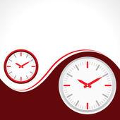 Clock background — Vector de stock