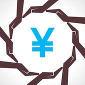 Save money concept — Stock Vector