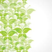 Farfalla verde — Vettoriale Stock