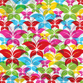 Colorful butterfly background — Stock Vector