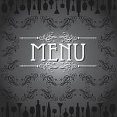 Template for menu card — Wektor stockowy