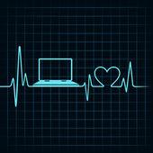 Medical technology concept — Stock Vector