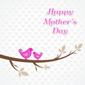 Mothers day greeting — Stock Vector