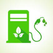 Petrol pump machine — Stock Vector